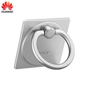 Кольцо-держатель для смартфона Huawei Honor AF16 (Серебристое)