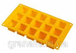 Силиконовая форма Кубики 26х15х3 см