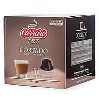 Кофе в капсулах с молоком Cortado Dolcie Gusto 16 cap.Carraro Caffe S.p.A.Italia