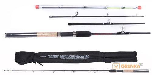 Удилище Salmo Sniper Multi Boat Feeder 2.1-2.4 м (до 150 гр) (4115-210-240)