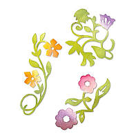 Ножи Sizzix Set 3PK - Flower Vines Set 658069, фото 1