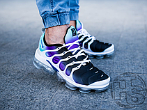 Мужские кроссовки Nike Air VaporMax Plus Grape White/Purple Green Black 924453-101, фото 3