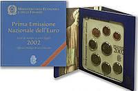 Италия 2002. Официальный годовой набор монет