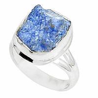 Серебряное кольцо с  дюмортьеритом, размер 18 от студии LadyStyle.Biz, фото 1