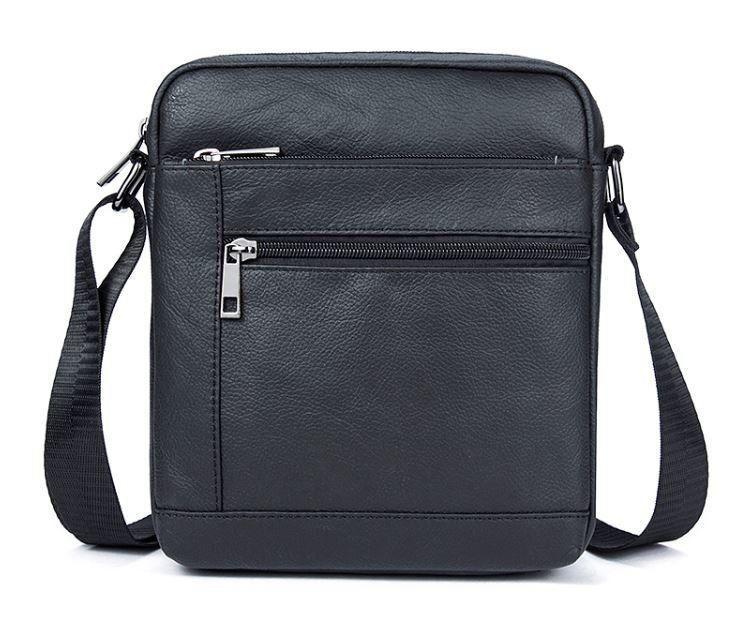 Сумка мужская флотар Vintage 14720 Черная, Черный