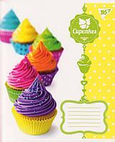 """Тетради  48 л. линия """"Cupcakes"""" 763822, фото 1"""