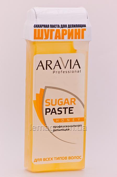 """ARAVIA Professional Сахарная паста в кассете очень мягкая """"Медовая"""", 150 г"""