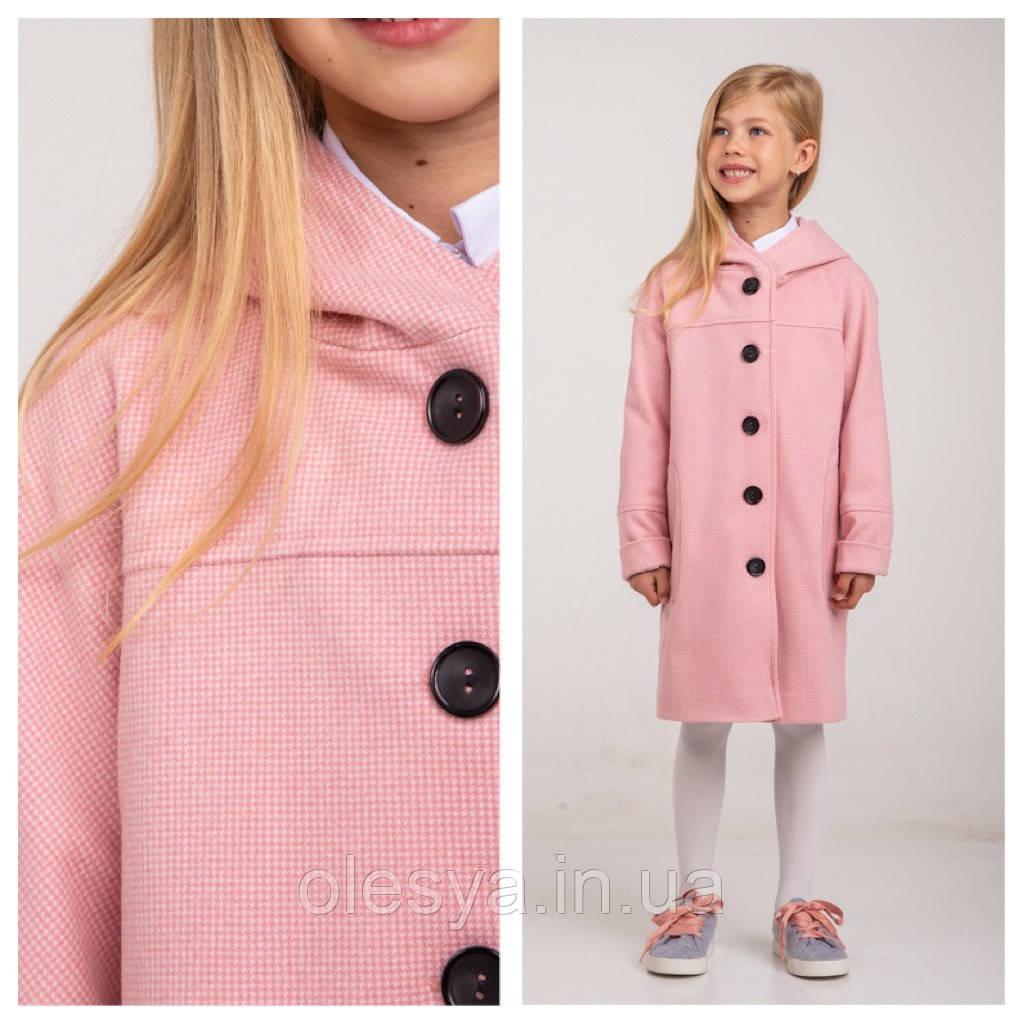 Демисезонное пальто для девочки Marlen ТМ Brilliant Размеры 122- 140