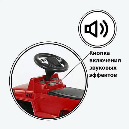 Машина-Толокар 808 G-8207 JOY, цвет красный, русское озвучивание, световые эффекты, багажник, фото 2