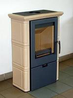 Кафельная печь на дровах Landshut 2 , камин-печь, топка, отопительная печь на дровах