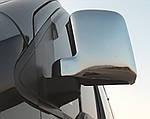 Ford Connect 2002-2006 рр. Накладки на дзеркала Хром (2 шт., пласт.)