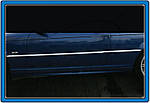 BMW 3 серія E-46 1998-2006 рр. Хром на дверній молдинг (нерж.)