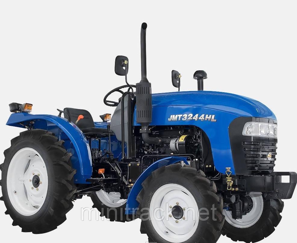 Трактор JINMA JMT3244HL,(24л.с., 4х4, 3 цил., ГУР, 2-е сц.)
