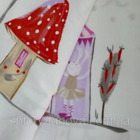 Декор фейри серый/розовый/красный