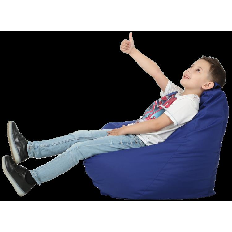 Кресло-мешок  детское  синее 60х90