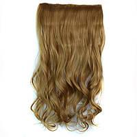 Искусственные волосы на заколках волнистые. Цвет #22 Светло-русый