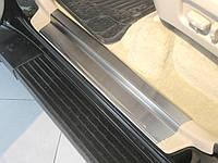 Toyota LС 100 Накладки на пороги Натанико премиум (4 шт, нерж.)