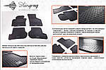 Seat Toledo 2005-2012 гг. Резиновые коврики (4 шт, Stingray Premium)