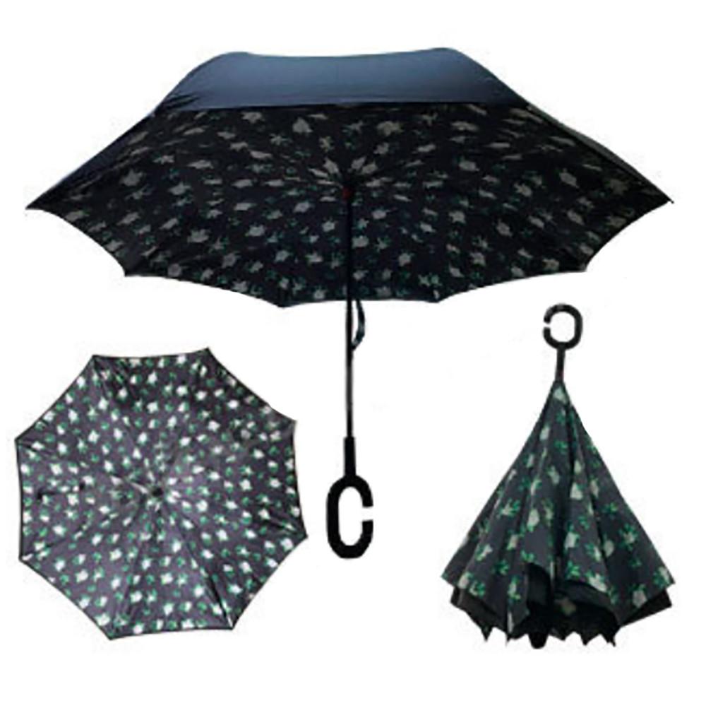 Зонт обратного сложения Up-brella Летние цветы №56