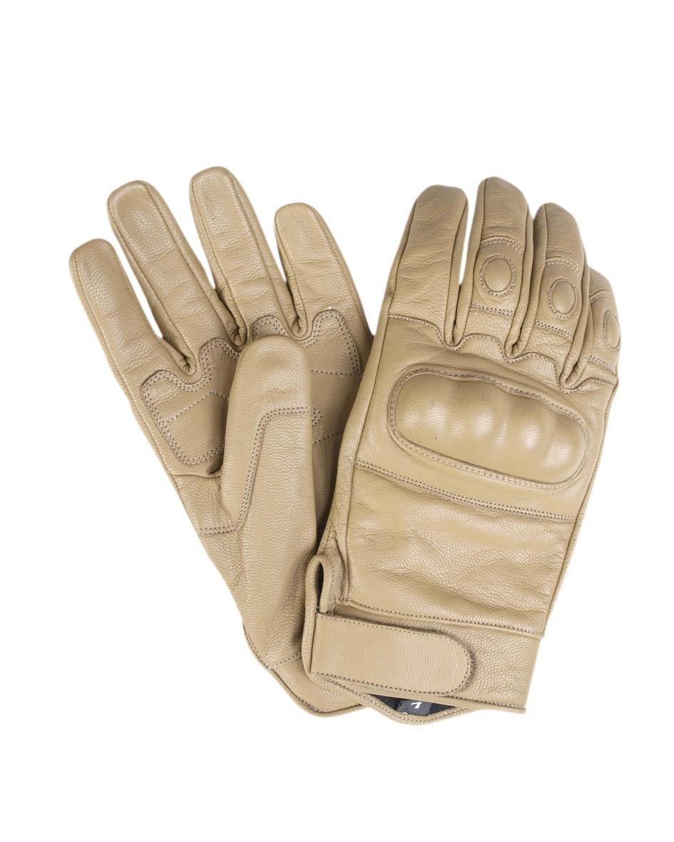 Тактические перчатки кожаные MilTec Coyote 12504105 L