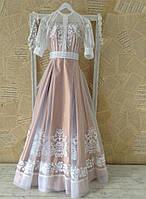 Екслюзивна сукня з вишивкою, фото 1