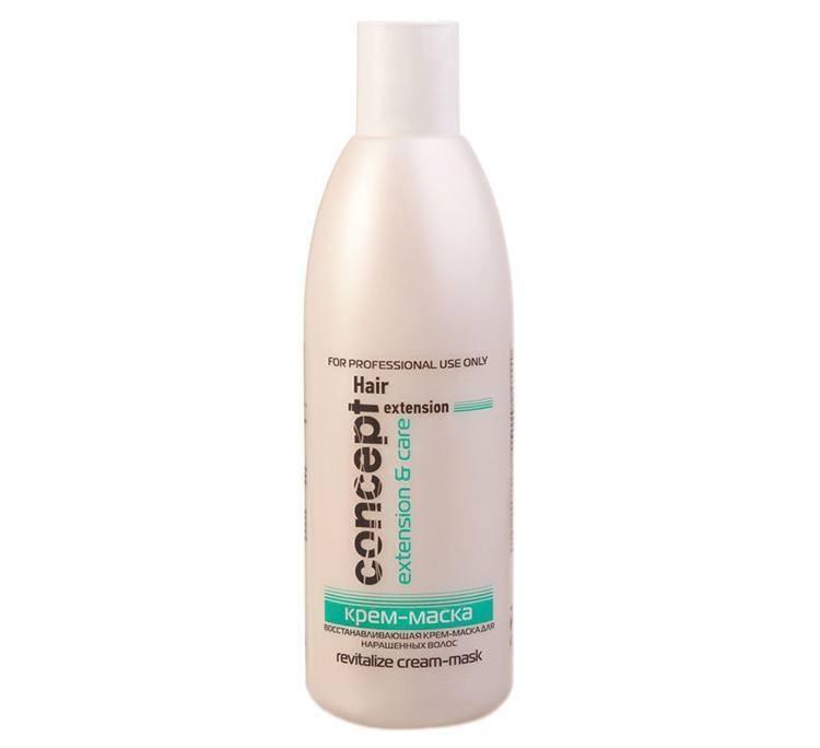 Відновлююча маска-крем для нарощенного волосся Revitalize Cream-Mask від Concept, 300 мл