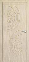 Межкомнатные двери Неман модель Прибой ПГ ель карпатская
