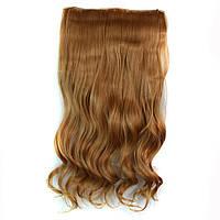Искусственные волосы на заколках волнистые. Цвет #26 Золотой Блонд