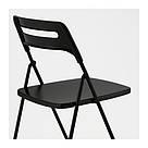 ИКЕА (IKEA) НИССЕ, 301.150.66, Садовый стул, черный - ТОП ПРОДАЖ, фото 7