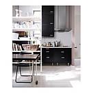 ИКЕА (IKEA) НИССЕ, 301.150.66, Садовый стул, черный - ТОП ПРОДАЖ, фото 9