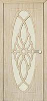 Межкомнатные двери Неман модель Орхидея ПО ель карпатская