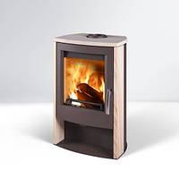 Кафельная печь Alvesta 2 печь-камин на дровах, топка,буржуйка, каминфоен