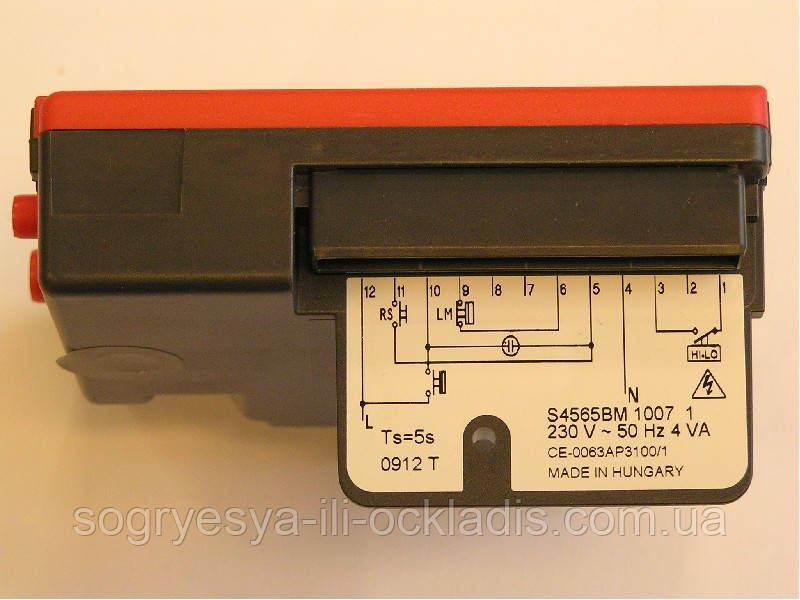 Блок розпалу S4565-BM1007 KLO(20,30) 13