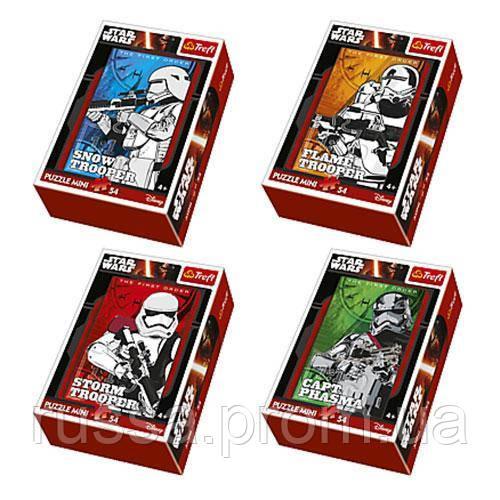 Пазли 54144 Trefl Штурмовики, Lucasfilm Star Wars, міні, 54 дет., 4 види