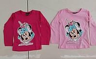 Реглан трикотажный  для девочек , Disney,98-128 рр. оптом
