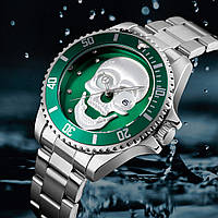 Часы наручные SKMEI 9195 серебрянный ремешок, фото 1
