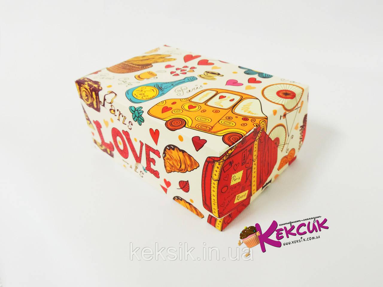 Коробка контейнер Париж 18*12*8 см