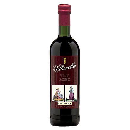 Вино красное сухое Villanella Vino Rosso 1,5л. Италия