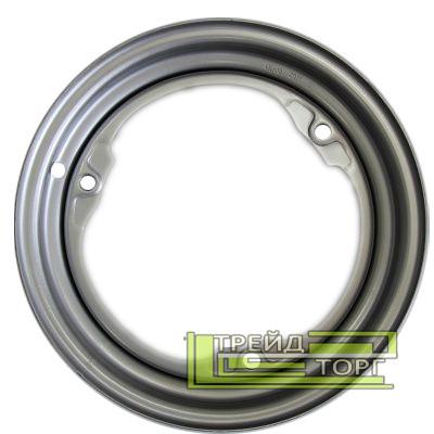 Диск колісний ЗАЗ/Славута/Таврія 4.5x13 3x256 ET30 DIA228 сріблястий металік SKOV Steel Wheels