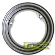 Диск колесный ЗАЗ/Славута/Таврия 4.5x13 3x256 ET30 DIA228 серебристый металлик SKOV Steel Wheels