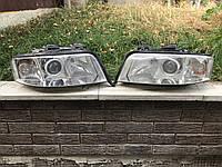 Передняя оптика фары передние Audi A6 C5 рестайл 15592900