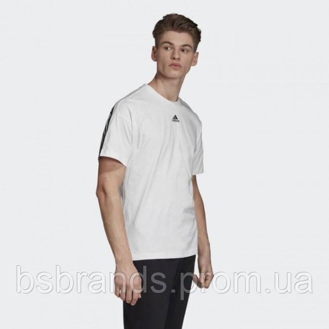 Мужская футболка adidas MUST HAVES 3-STRIPES (АРТИКУЛ: DX7656)