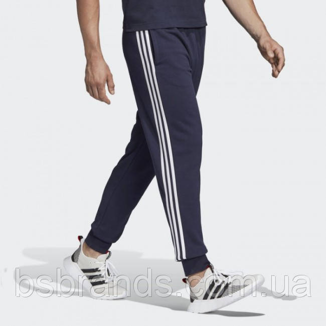 Мужские брюки adidas ESSENTIALS 3-STRIPES TAPERED (АРТИКУЛ: DU0478)