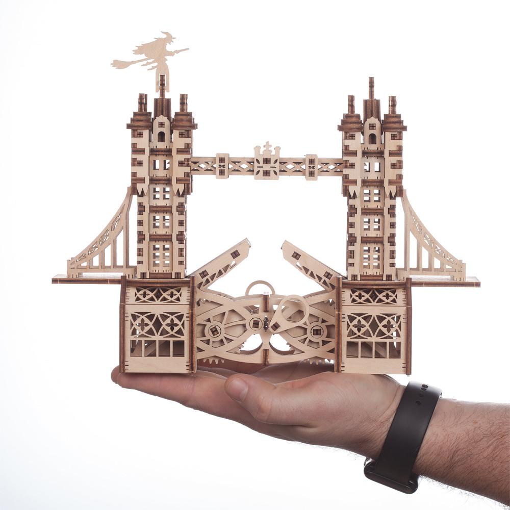 Механический 3D пазл Тауэрский мост S Mr.Playwood