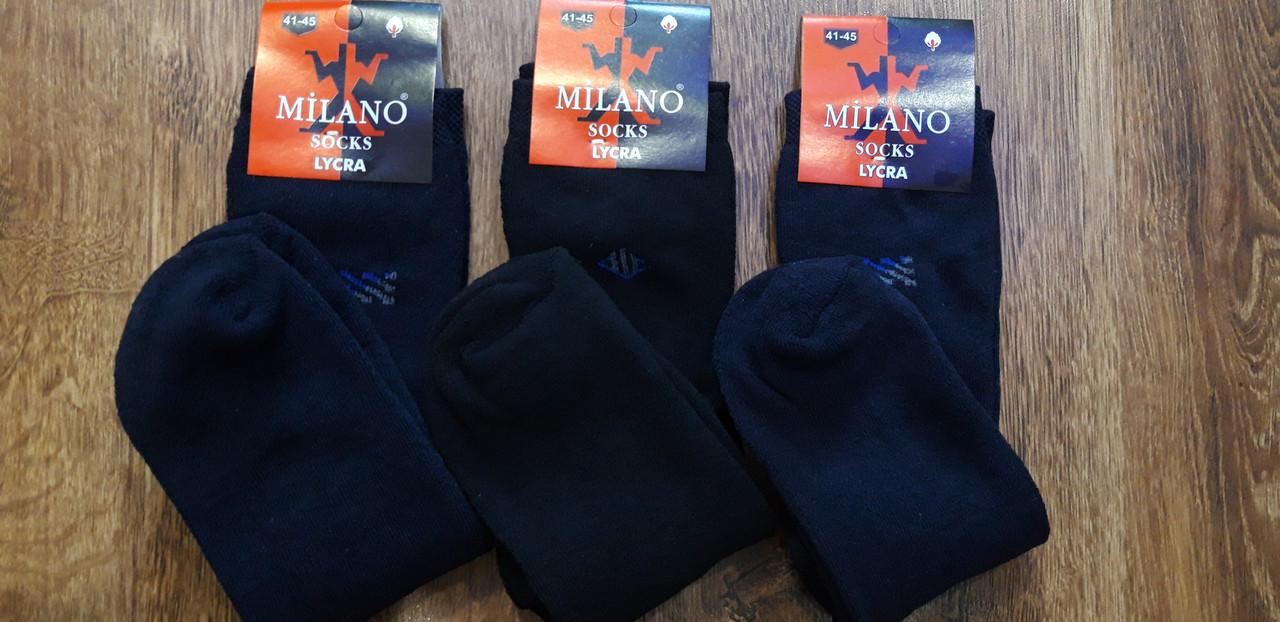 """Чоловічі махрові стрейчеві шкарпетки,""""MILANO""""(41-45)"""