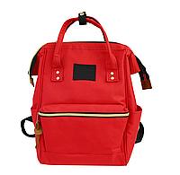 Сумка женская рюкзак красный ЕКО. Ткань Оксфорд 157Вk