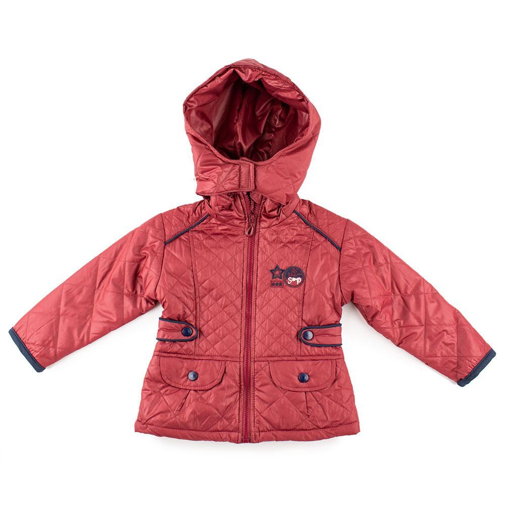 Куртка демисезонная для девочек Sweeper 98  бордо 95029