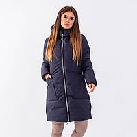 Женское пальто Indigo N 024T MEMORY FROG BLACK
