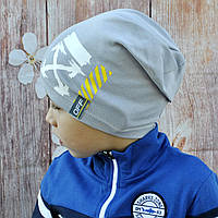 Модная трикотажная шапочка  для мальчика Off White