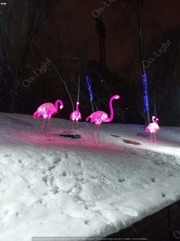 """Парк """"Зеленый гай"""" Фламинго"""